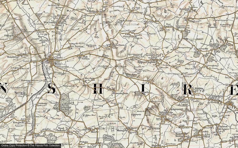 Winceby, 1902-1903