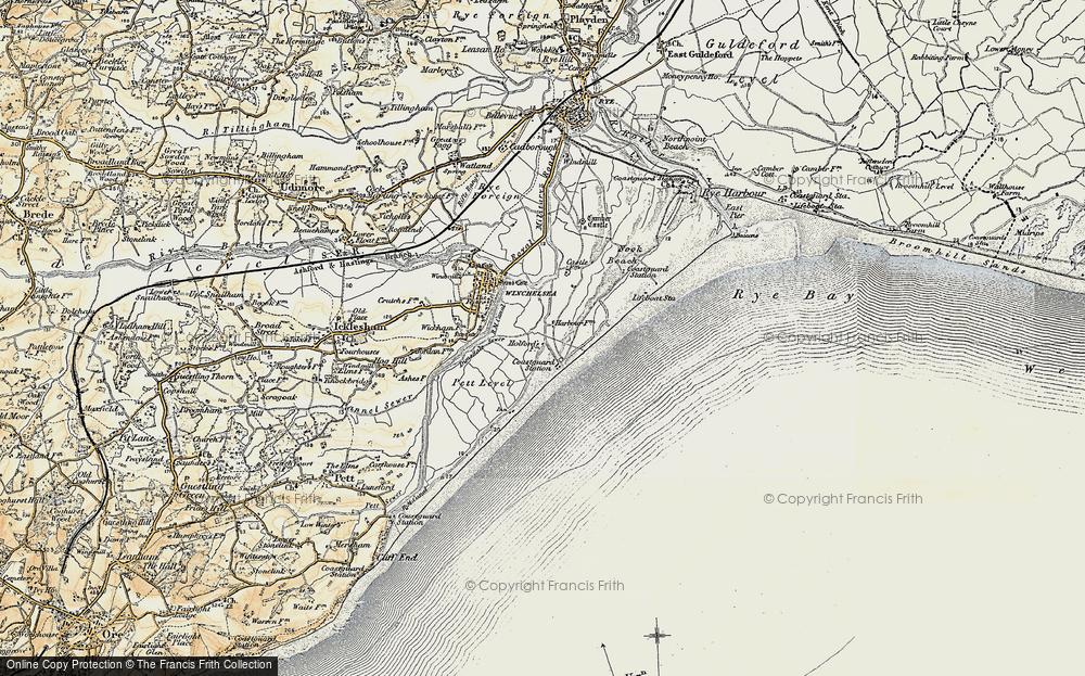 Winchelsea Beach, 1898