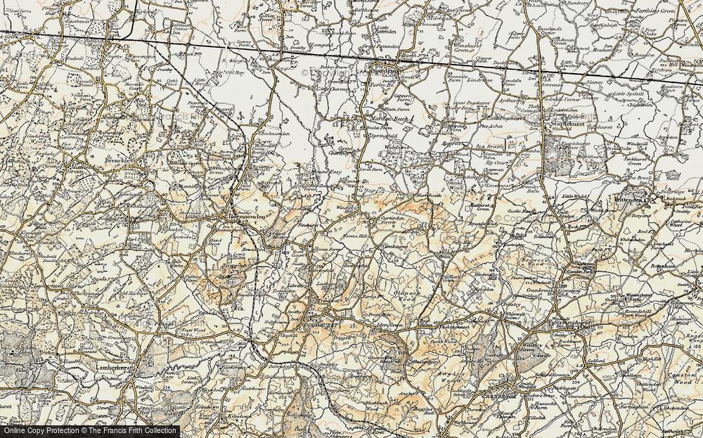 Winchet Hill, 1897-1898