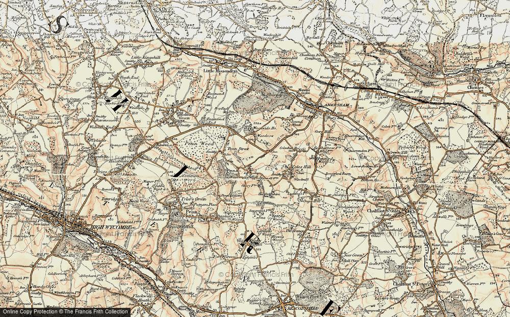 Winchmore Hill, 1897-1898