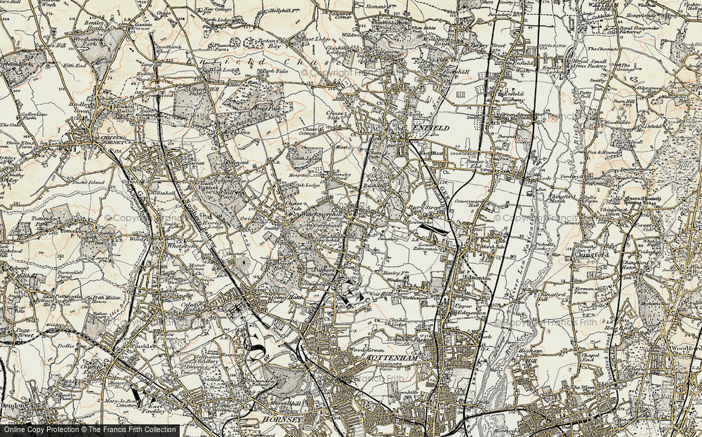 Winchmore Hill, 1897-1898