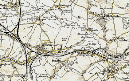 Old map of Windhill in 1903