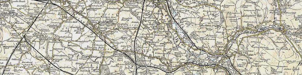 Old map of Windlehurst in 1903