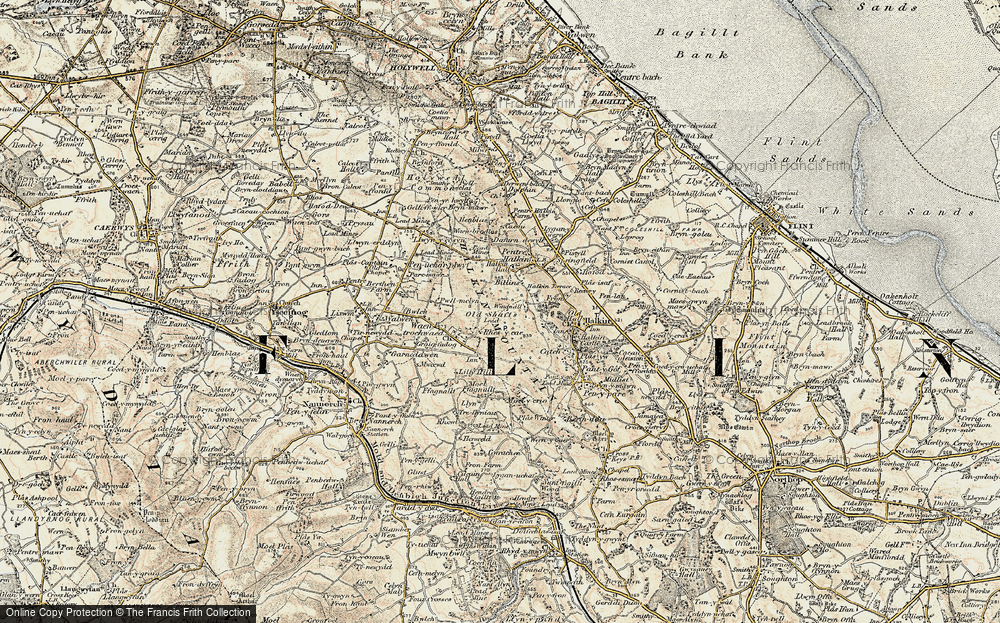 Old Map of Windmill, 1902-1903 in 1902-1903