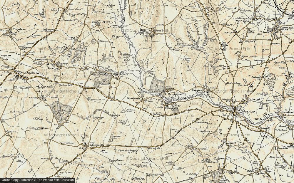 Windrush, 1898-1899