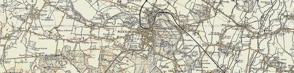 Old map of Adelaide Cottage in 1897-1909