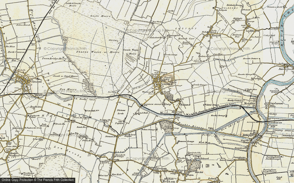 Old Map of Windsor, 1903 in 1903