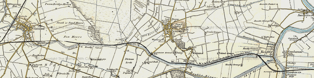Old map of Windsor in 1903