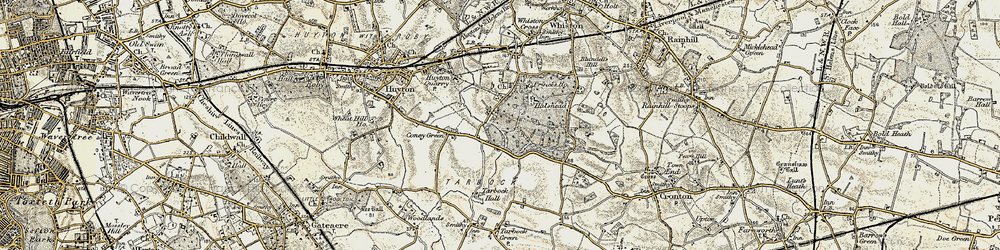 Old map of Windy Arbor in 1902-1903