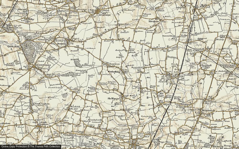 Winfarthing, 1901