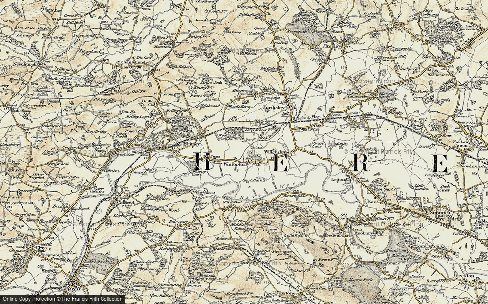 Winforton, 1900-1901
