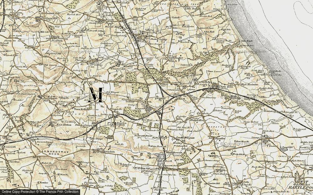 Wingate, 1901-1904