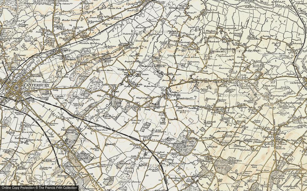 Wingham Green, 1898-1899