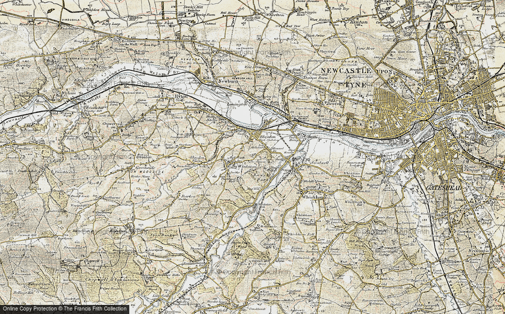 Winlaton, 1901-1904