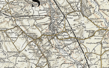 Old map of Winsford in 1902-1903