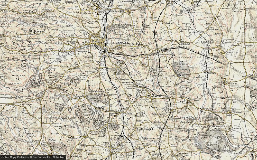 Winsick, 1902-1903