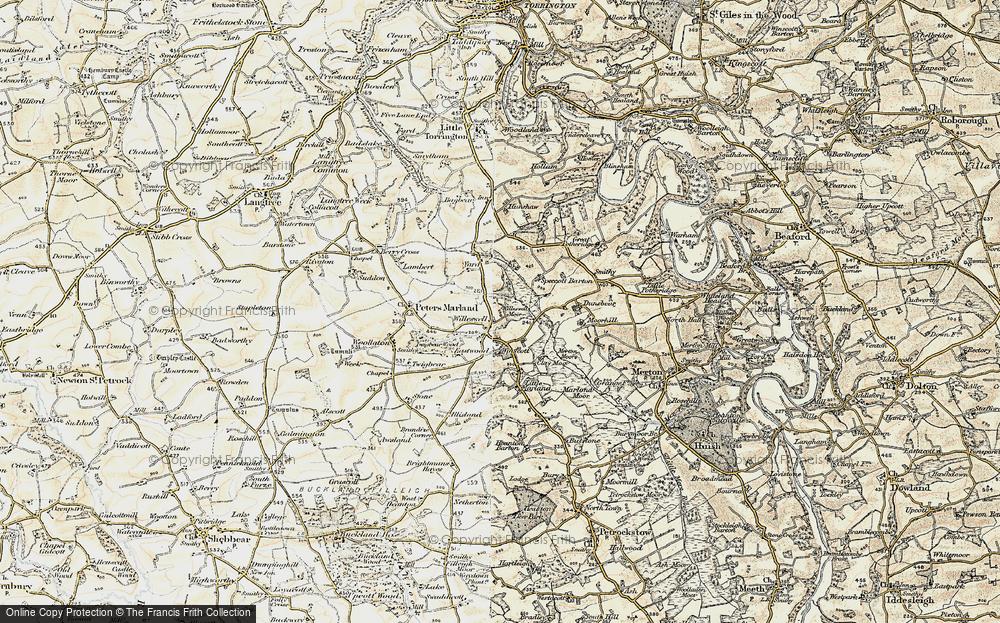 Winswell, 1900