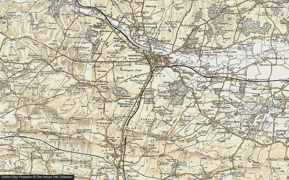Winterborne Herringston, 1899