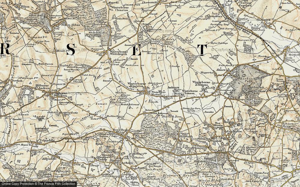 Winterborne Kingston, 1897-1909