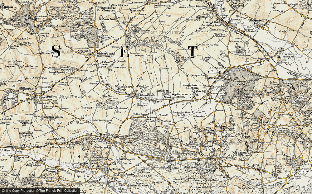 Winterborne Muston, 1897-1909