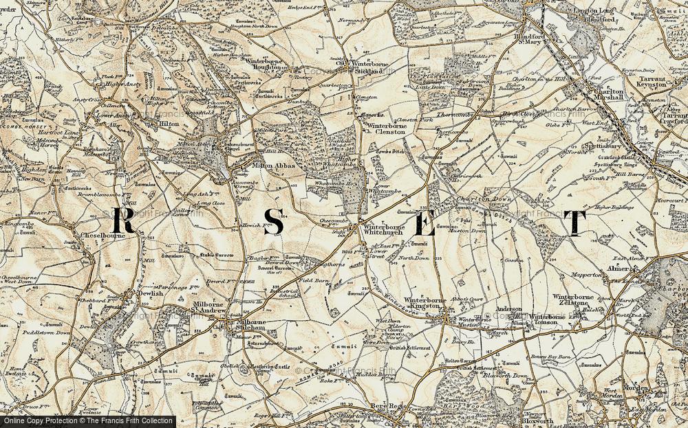 Winterborne Whitechurch, 1897-1909