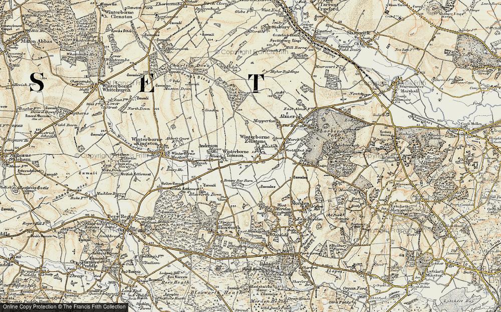 Winterborne Zelston, 1897-1909