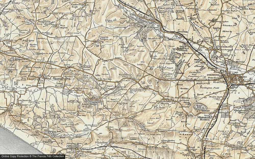 Winterbourne Abbas, 1899