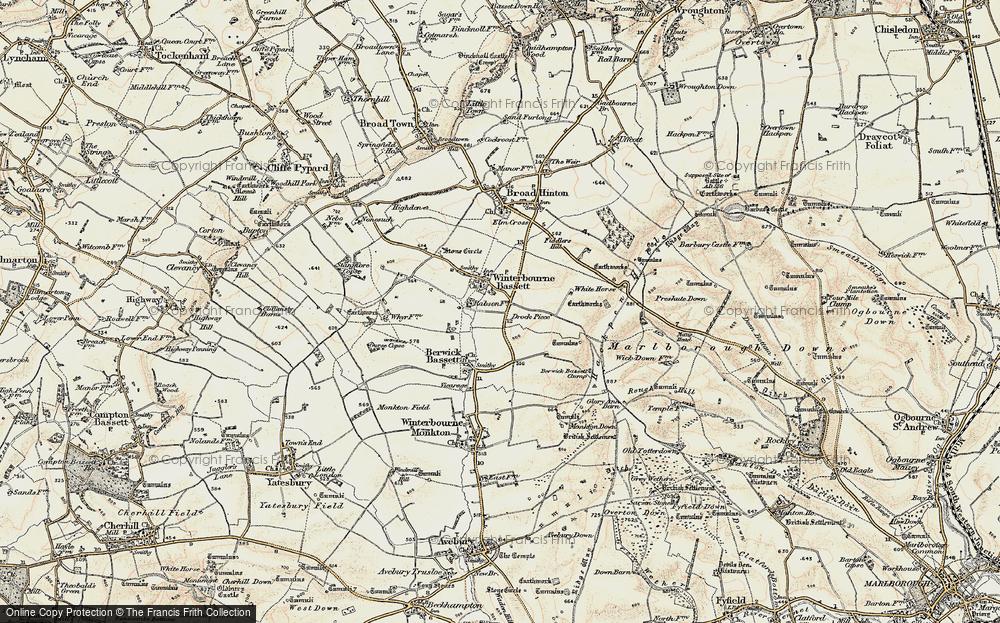 Winterbourne Bassett, 1898-1899