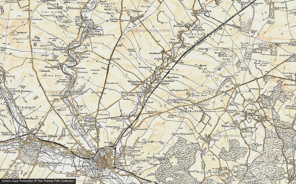 Winterbourne Dauntsey, 1897-1899