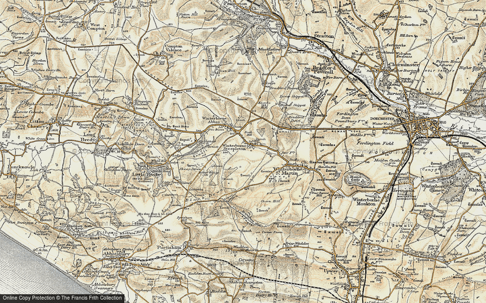 Winterbourne Steepleton, 1899