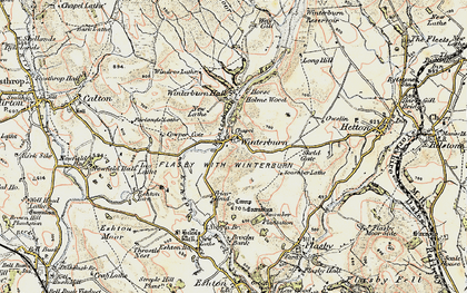 Old map of Windros Laithe in 1903-1904