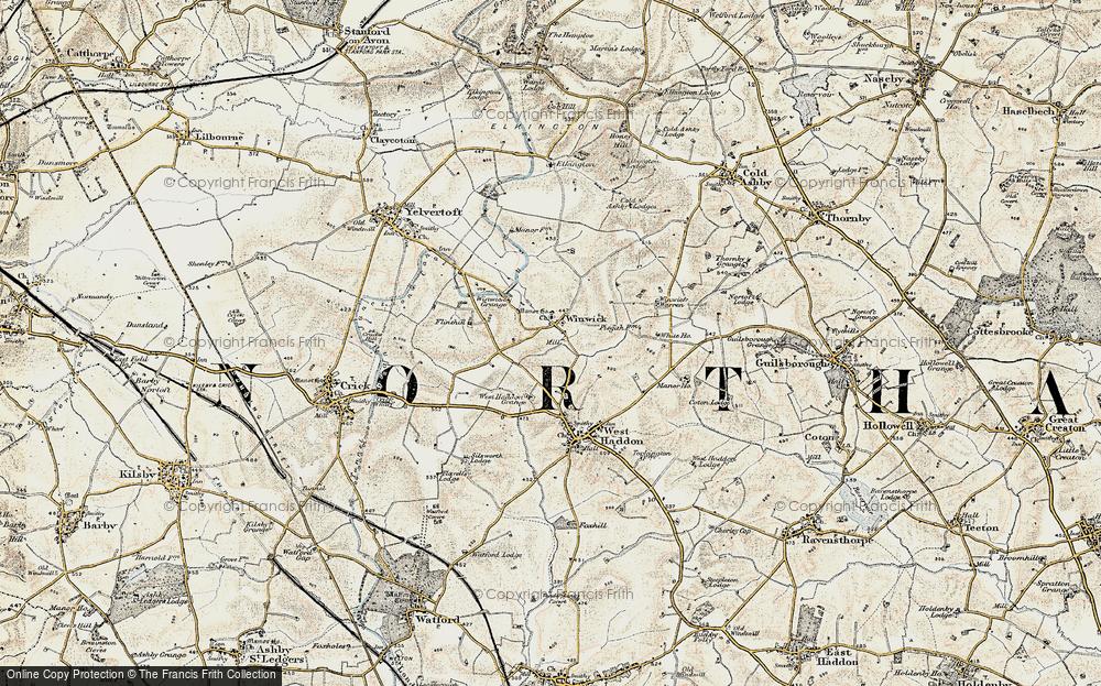 Winwick, 1901