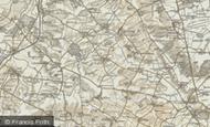 Map of Winwick, 1901