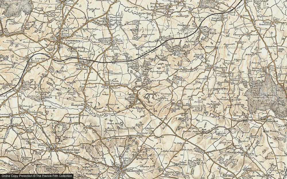 Winyard's Gap, 1899