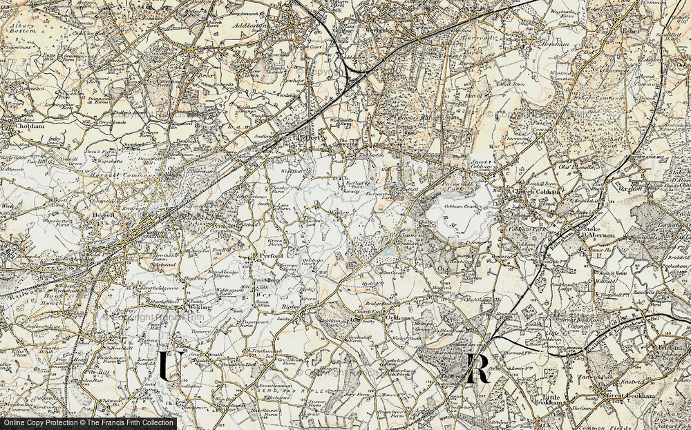 Wisley, 1897-1909