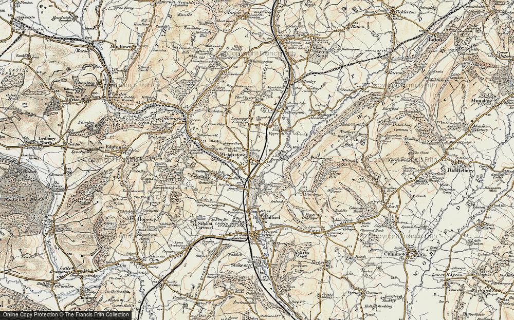 Wistanstow, 1901-1903