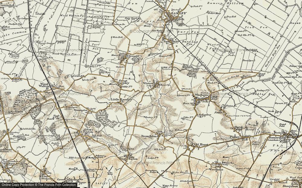 Wistow, 1901