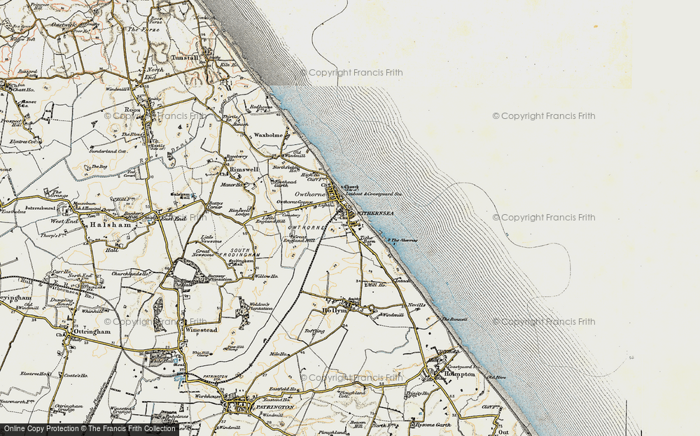 Old Map of Withernsea, 1903-1908 in 1903-1908