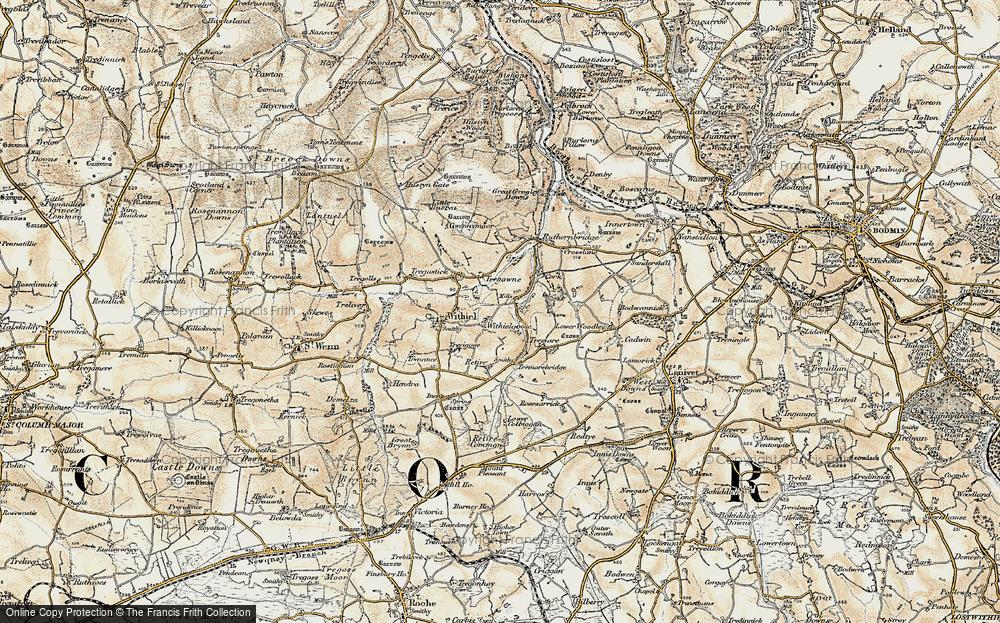 Withielgoose Mills, 1900