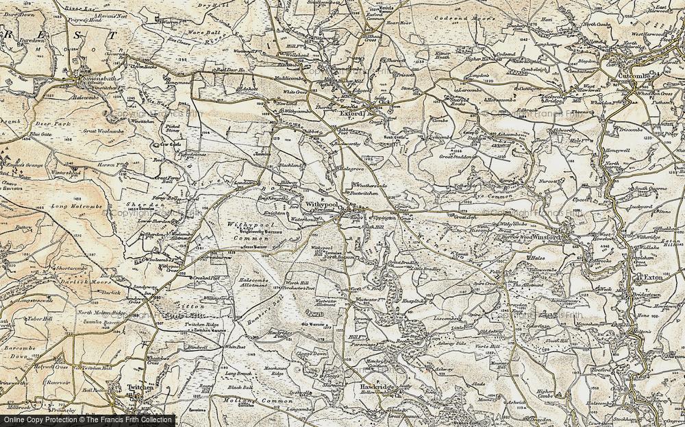 Withypool, 1900