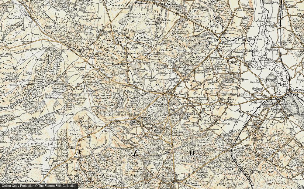 Wittensford, 1897-1909