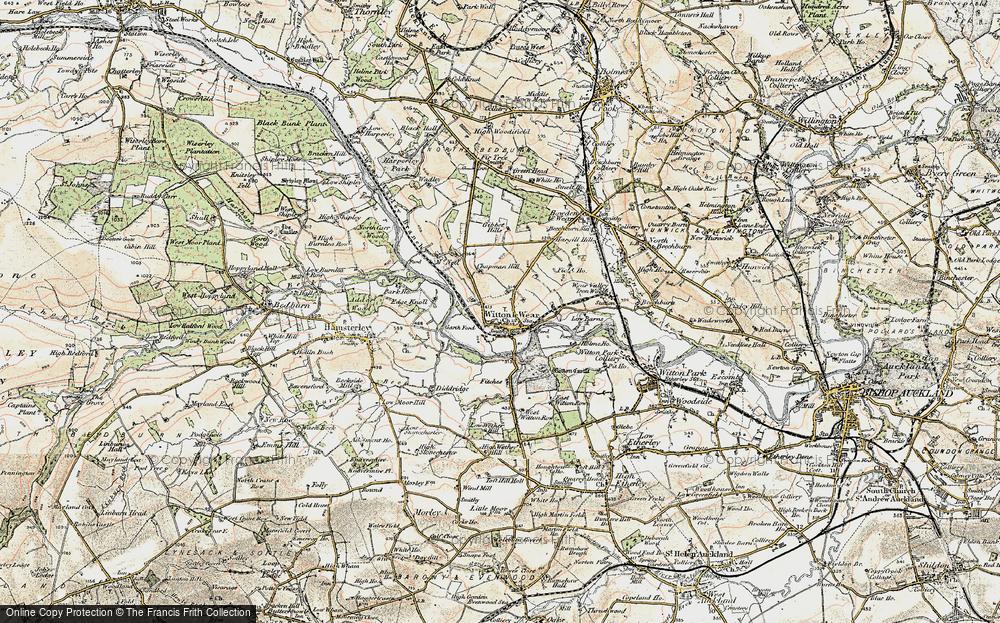 Witton-le-Wear, 1903-1904