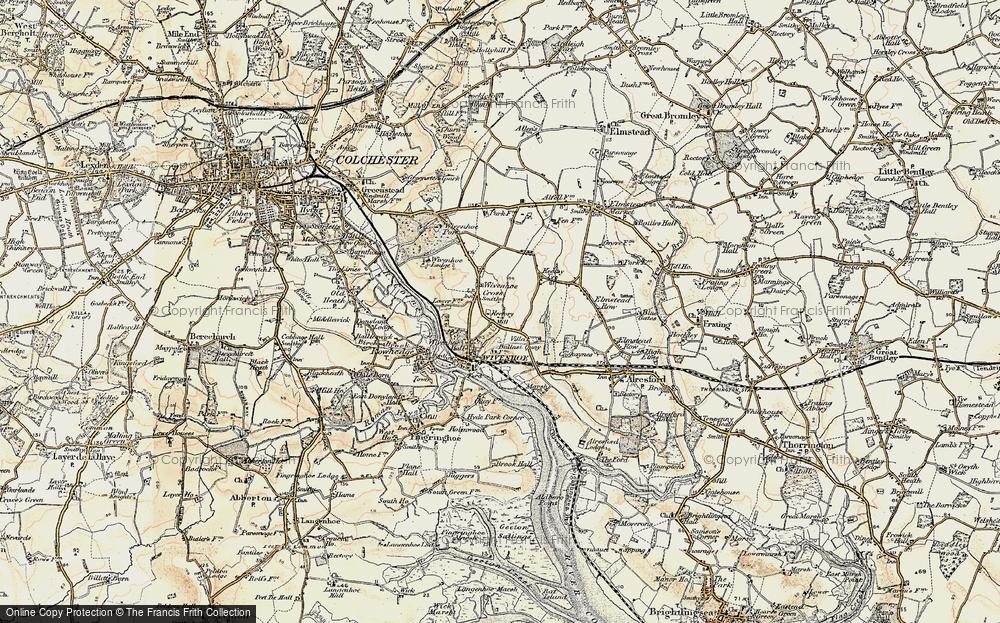 Wivenhoe, 1898-1899