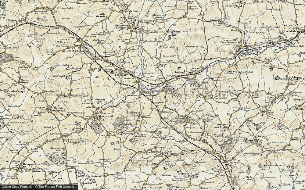 Wixoe, 1898-1901
