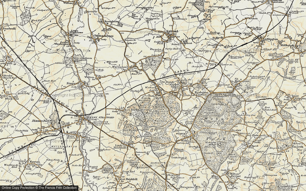 Woburn Sands, 1898-1901