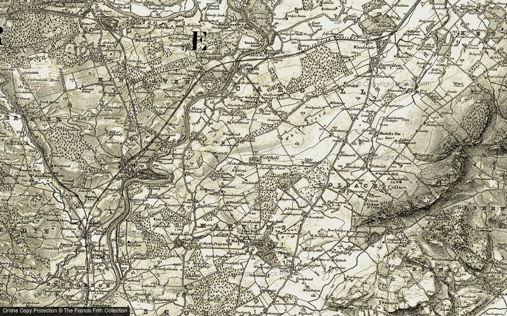 Wolfhill, 1907-1908