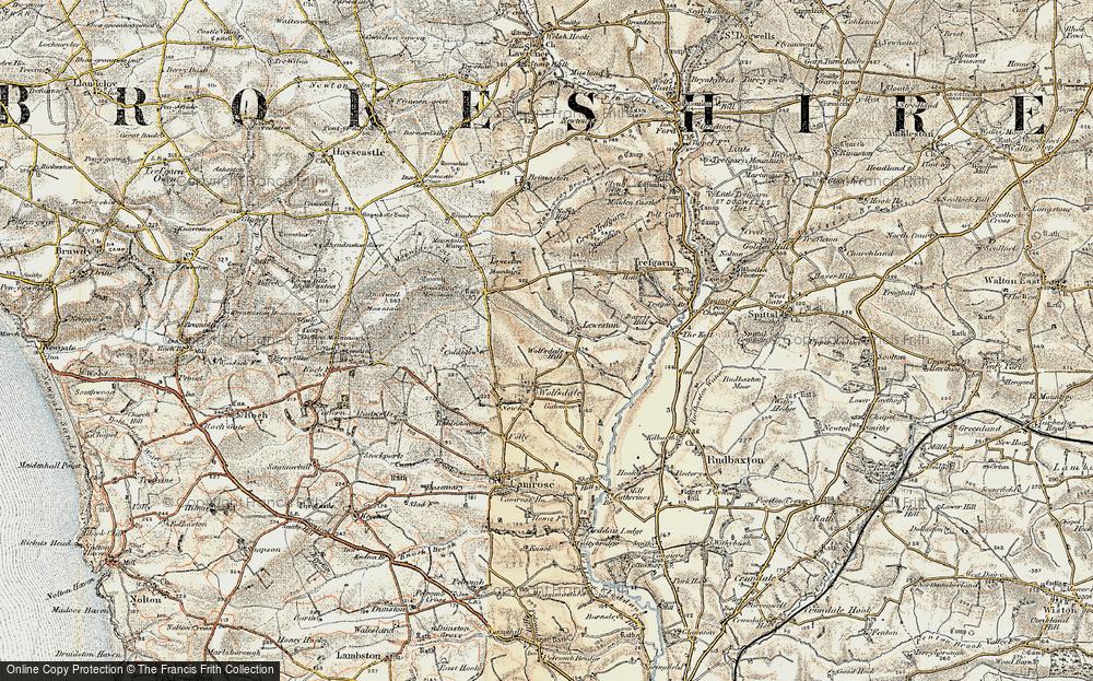 Wolfsdale Hill, 1901-1912