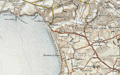 Old map of Wood in 0-1912