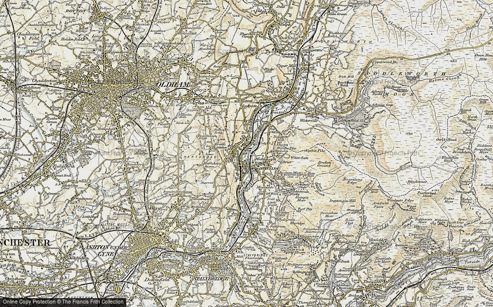 Old Map of Wood End, 1903 in 1903
