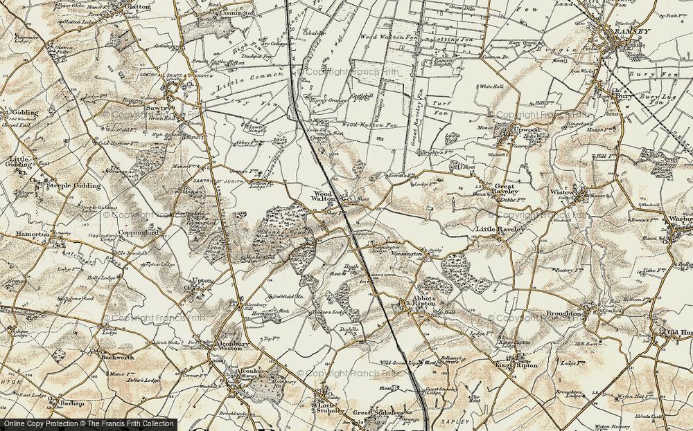 Wood Walton, 1901